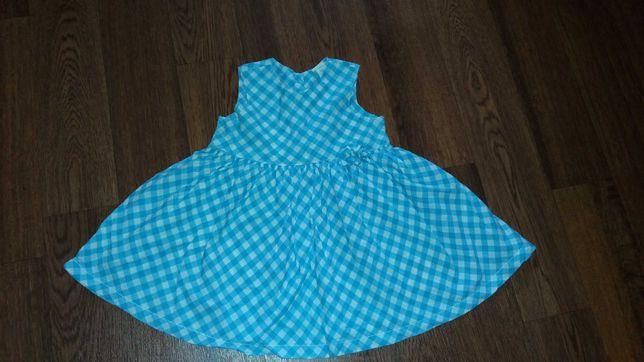 Платье платьице на девочку 4 - 6 месяцев