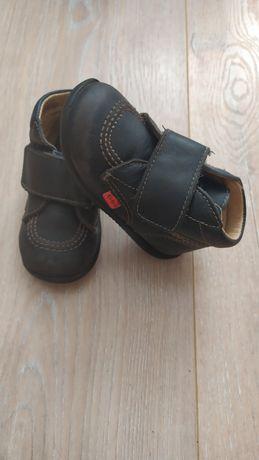 Ботинки kickers кожа
