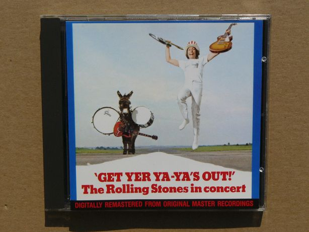 cd The Rolling Stones Get Yer Ya-Ya's Out 1996 wyd.EU tłocz.Germany