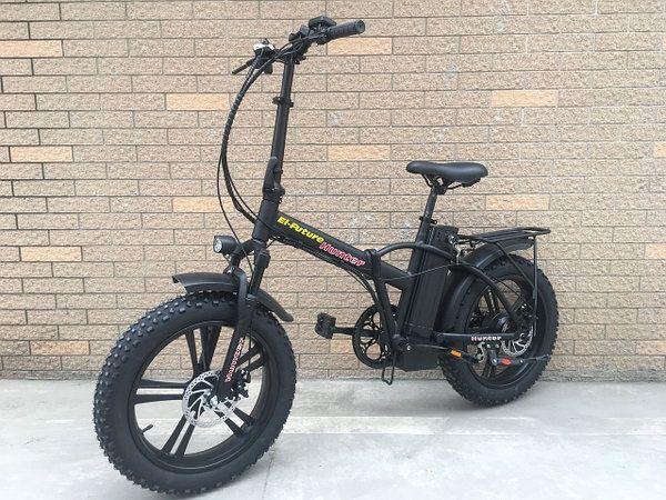 Электровелосипед складной El-future Hunter 500W 48V 15AH