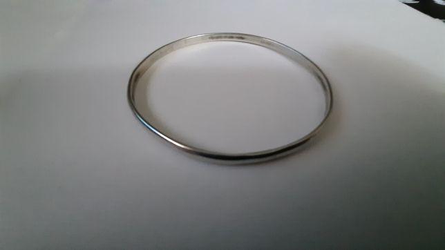 Srebrna bransoletka prób.800