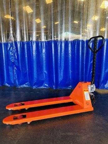 Porta Paletes Manual NOVO 2500 Kg Rodado duplo e simples