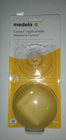 Mamilos de silicone Medela tamanho M