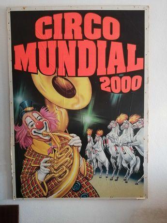 Poster vintage Circo