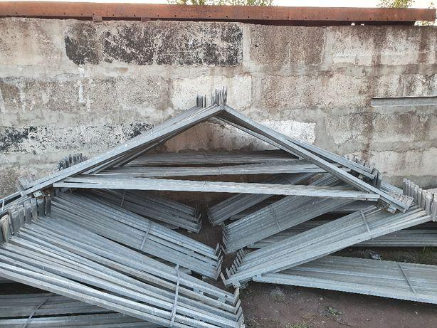 Kratownica konstrukcja stalowa dach zadaszenie wiata ocynk 3 m