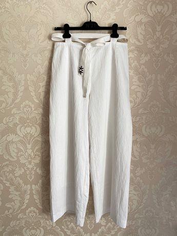 Annette görtz белые летние широкие брюки палаццо кюлоты