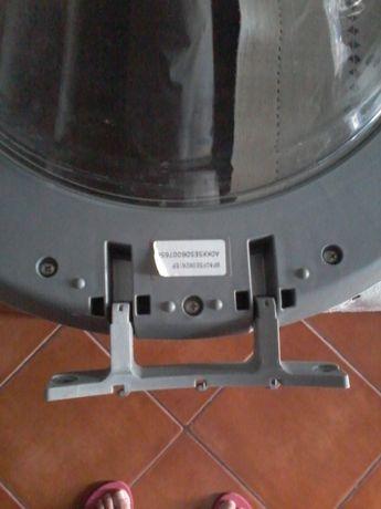 Porta máquina de lavar roupa
