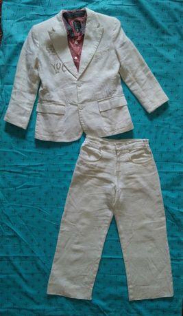 Шикарный нарядный костюм на мальчика выпускной (пиджак брюки шведка