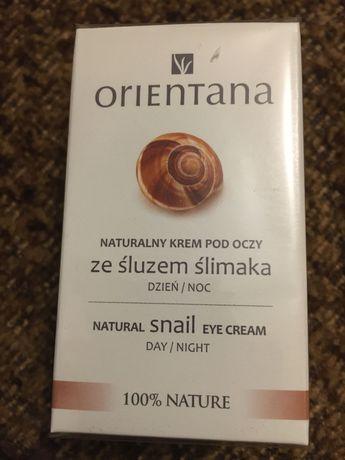 NOWY Orientana krem pod oczy ze śluzem ślimaka 100% nature