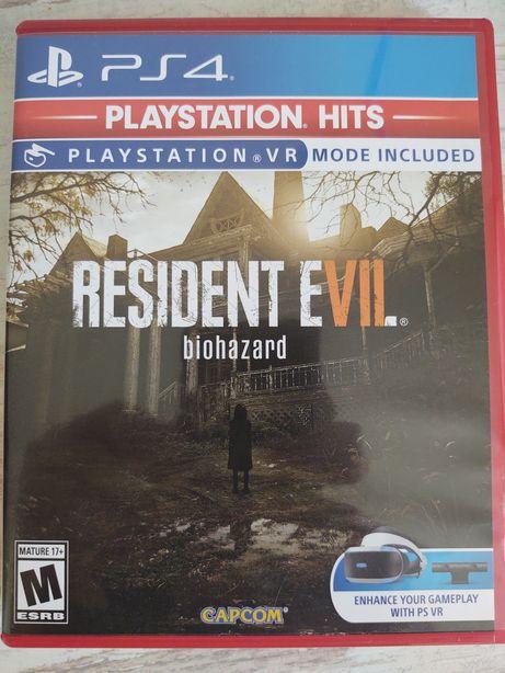Диск Resident Evil 7 Biohazard PS4 (Playstation 4)