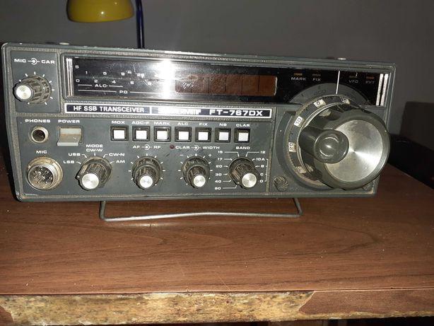 Rадиостанцияyaesu FT 707  -антеннаintek FM680- интек fm500S