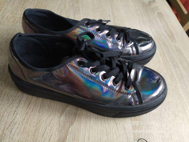 Holograficzne tenisówki buty 39