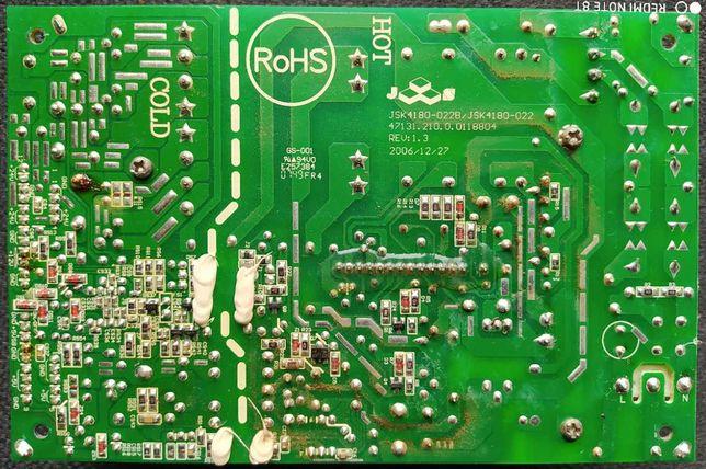 HITACHI L32E100S блок питания JSK4180-022B