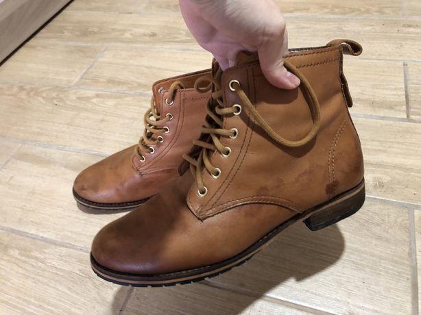 Ботинки натуральна кожа