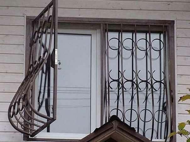 Решетки на окна дешево под ключ