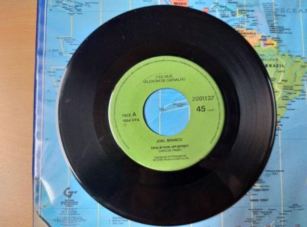 Single Vinil Joel Branco-Uma árvore, um amigo