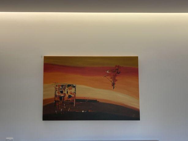 Tela / quadro de autor pintado a oleo