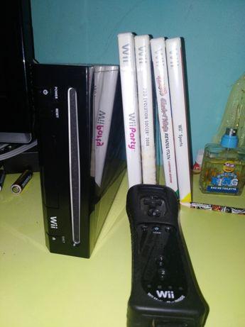 Wii com 4 jogos