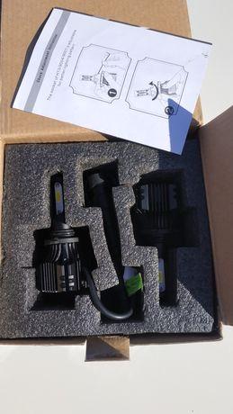 Лампы led 9006 комплект новые