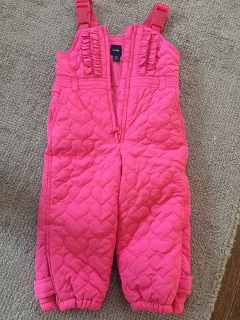 Cieple spodnie zimowe firmy GAP