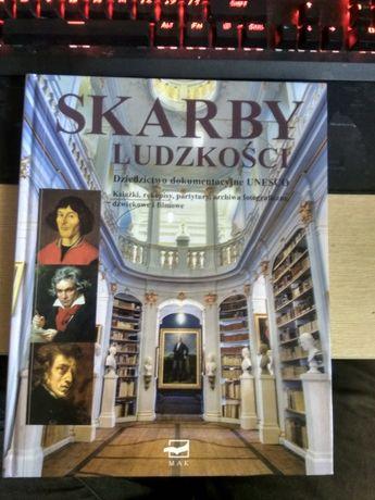 Książka - Skarby ludzkości. Dziedzictwo dokumentacyjnej UNESCO.