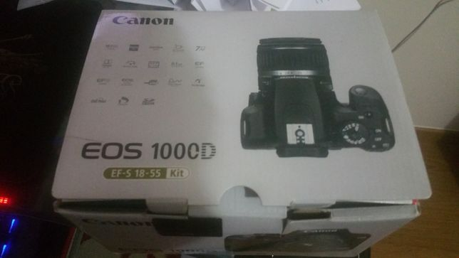kit completo canon eos 1000d