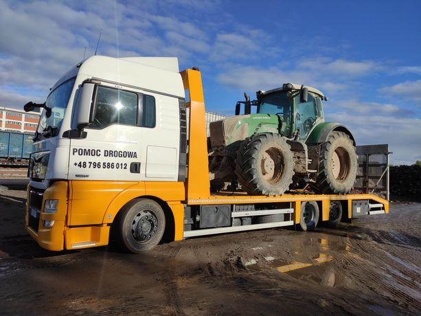 Transport maszyn Usługi transportowe Laweta M-Trajectory