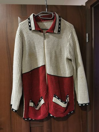 Sweter rozpinany..