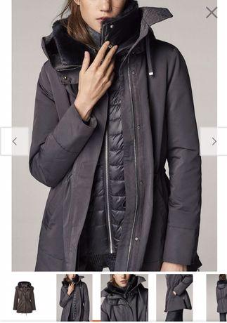 Nowa kurtka zimowa całoroczna płaszcz Massimo Dutti M L