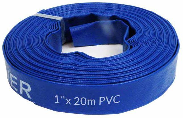 """Wąż do wody 1""""X20m bez złączek PVC"""