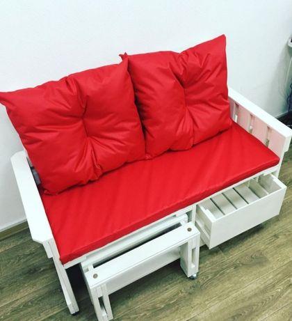Матрасы и подушки для мебели из поддонов, паллет, садовой мебели