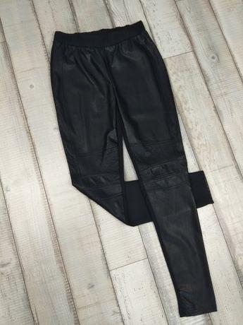 Spodnie legginsy damskie skóra 40/L