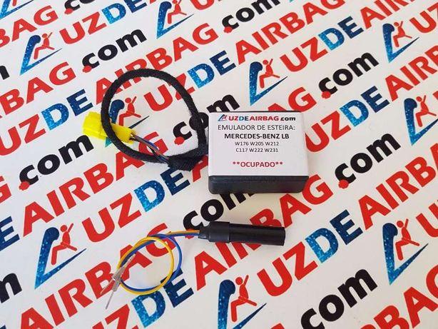 Anulador de Airbag p esteira Banco do Pendura Mercedes-Benz Plug&Play