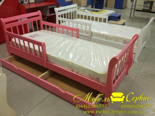 Кровать Лия – детская кроватка из натурального дерева