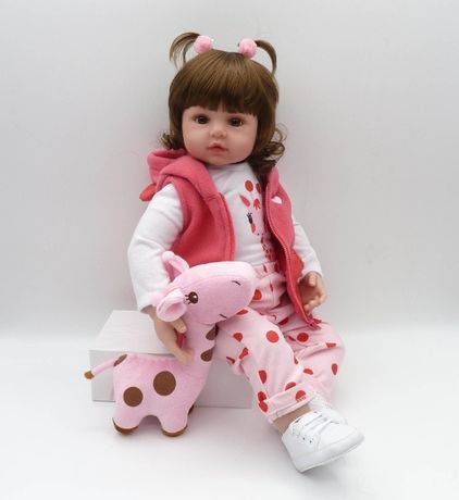 Bebes Кукла-реборн 47 см. В подарочной упаковке!