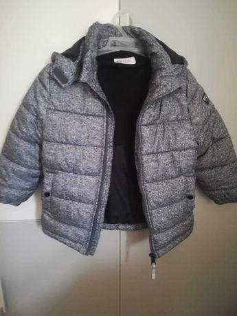 Zimowa kurtka dla chłopca H&M rozm 110