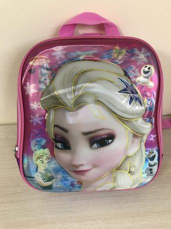 Школьный рюкзак 3d для девочек Эльза