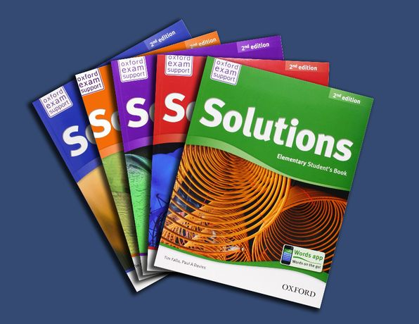 Solutions 2-ed. Advanced, Elementary ,Pre- ,Upper- ,Intermediate