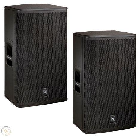 Electro Voice ELX 115 + Dynacord sl1200
