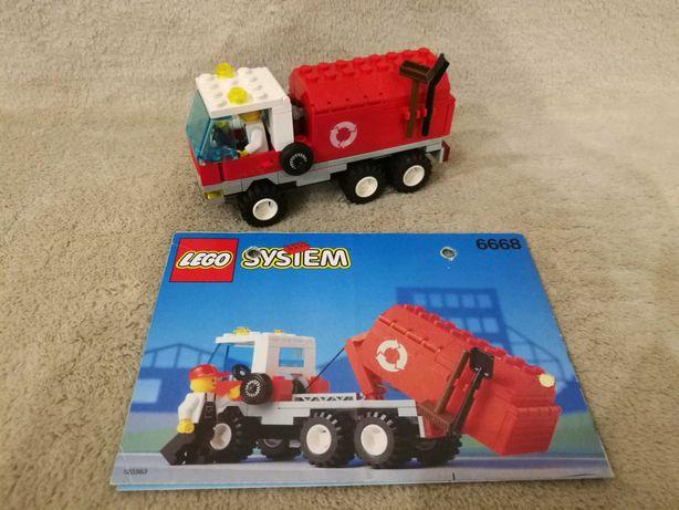 Lego Town City miasto 6668 Recycle Truck