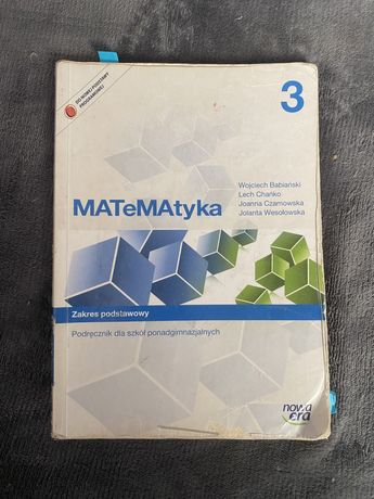 Matematyka 3 zakres podstawowy