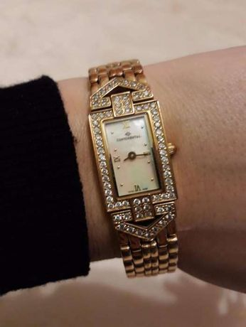 Швейцарские часы continental classic statements, 19 см длина браслета