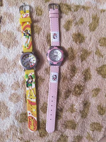 Часы детские кварцевые Китти и Винкс