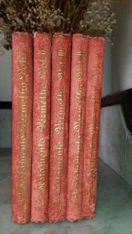 Coleção de livros Testamento Vermelho