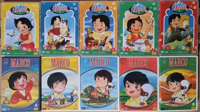 Séries de animação Heidi e Marco