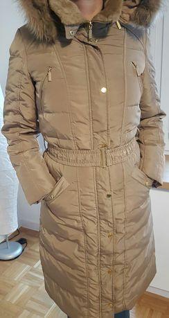 RESERVED płaszcz zimowy 36 pikowany