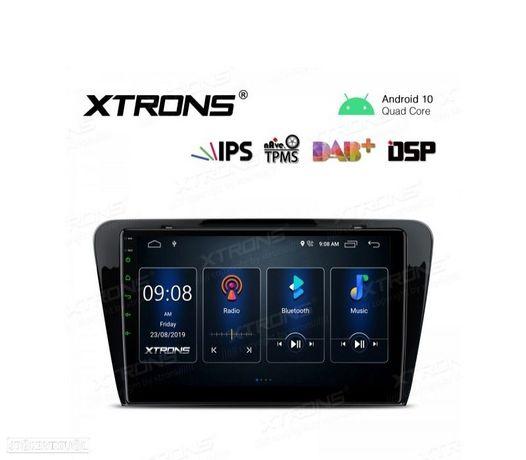 "AUTO RADIO GPS ECRA TACTIL 10.1"" SKODA ANDROID 10"