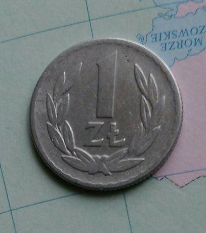 Moneta 1 zł z 1965r
