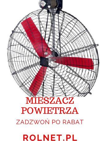 Rolnt -Wentylator mieszacz powietrza wiatrak Multifan fi, 70 cm