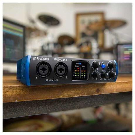 Audio interface Presonus Studio 24c